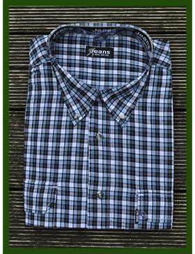 Trachten Hemden Herren Hemd Shirt Langarm 5 Farben