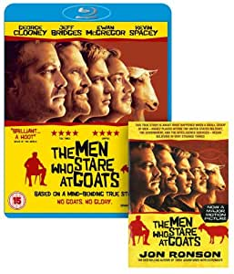 The Men Who Stare At Goats - Limited Edition with Free Book (Exclusive to Amazon.co.uk) [Blu-ray] [2009]