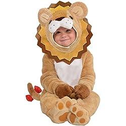 Disfraz de pequeño león que ruge para bebé, niño y niña