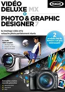 Magix Vidéo Deluxe MX + Photo & Graphic Designer 7