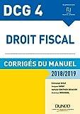 Lire le livre DCG Droit fiscal 2018/2019 gratuit