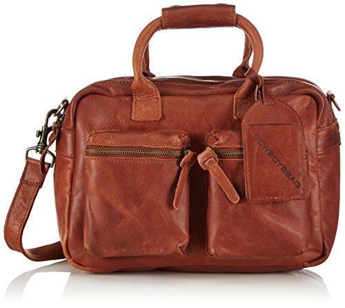 Cowboysbag Unisex-Erwachsene The Little Bag Henkeltaschen, Braun (Cognac 300) 32x20x14 cm
