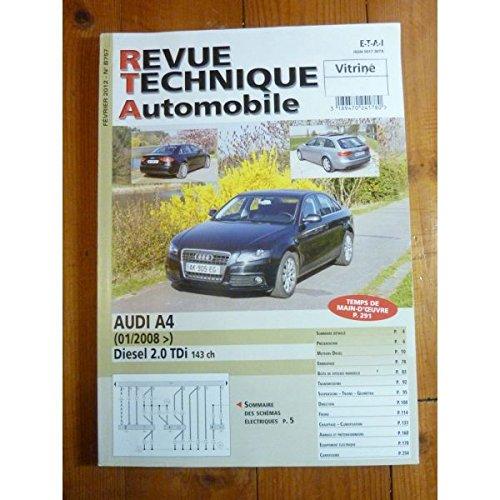 Rta-revue Techniques Automobiles - A4 2.0d 08- Revue Technique Audi par RTA