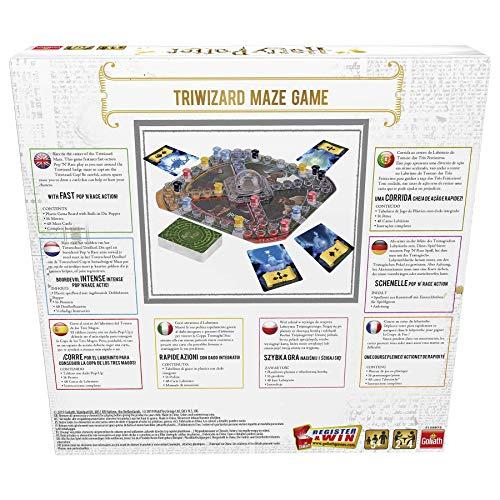 510z KWCShL - Pressman- Harry Potter Los Tres Magos Juego de Mesa, Multicolor (Goliath Games 108672)
