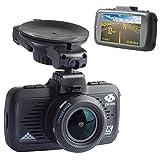 L'enregistreur de conduite HD EBORN avec GPS Caméra de Voiture, à grand angle 170°, 1080P 1296P, écran 2.7 pouces, avec carte mémoire 32G, surveillance au stationnement
