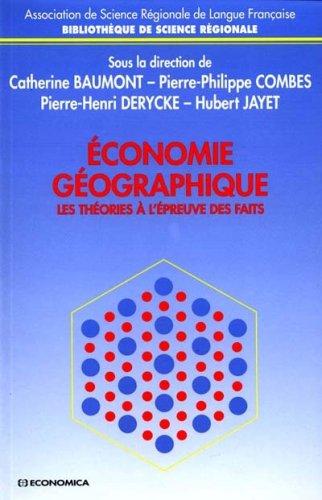 Economie géographique