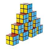 Cubikon 10 Stück Mini 2x2 Zauberwürfel - z.B. Geburtstags-Mitgebsel - Firmengeschenke - Kindergeburtstag