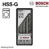Bosch Metallbohrersatz HSS-G 135° 7-tlg. Sechskantschaft 2 - 8 mm