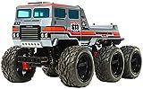 TAMIYA 58660 58660-1:18 RC Dynahead 6x6 (G6-01TR), ferngesteuertes Auto/Fahrzeug, Modellbau, Bausatz, unlackiert