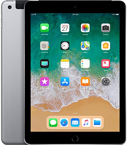 "Apple iPad 9,7"" Display Wi-Fi + Cellular 128GB - Space Grau"