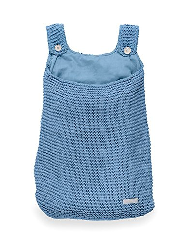 Jollein 010-871-65087 Aufbewahrungstasche Strick blau