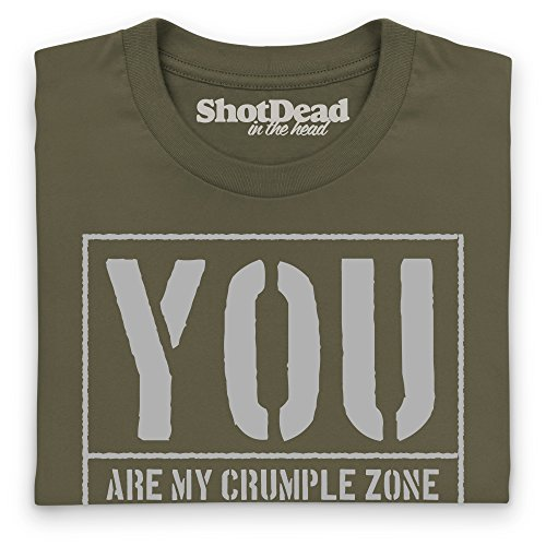 LRO Crumple Zone T-Shirt, Herren Olivgrn ...