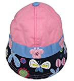 Wonderkids Butterfly Patch Pink Girl Cap...