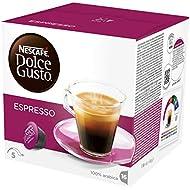 NESCAFÉ Dolce Gusto Espresso Coffee Pods, 16 Capsules (16 Servings)