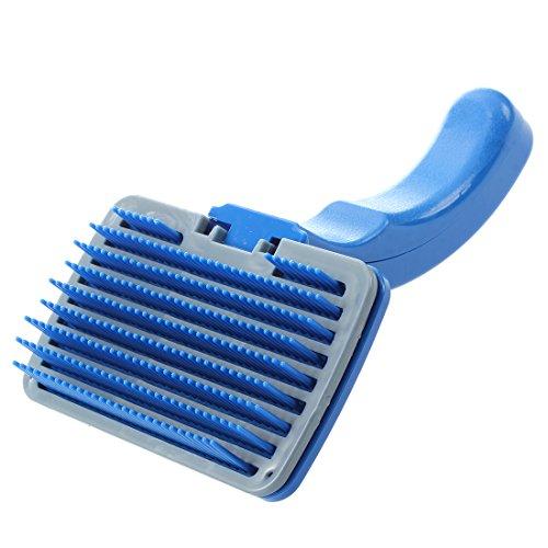 SODIALR Perro gato cepillo plastico nuevo quitar pelo