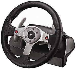 logitech g25 racing wheel pc ps2 ps3 lenkrad. Black Bedroom Furniture Sets. Home Design Ideas