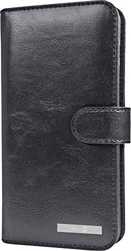 Doro Wallet case - Flip-Hülle für Mobiltelefon - Schwarz, 380235