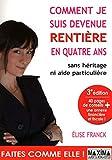 COMMENT JE SUIS DEVENUE RENTIERE EN QUATRE ANS - Maxima Laurent du Mesnil - 12/05/2010