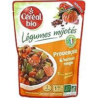 Céréal bio - Provençale & haricots rouges bio - Légumes Mijotés - Le sachet de 220g - Pirx Unitaire - Livraison...