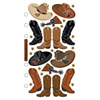 Sticko Stickers-Cowboy Hats & Boots