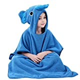 Asciugamani da bagno e con cappuccio, bambini spiaggia asciugamano Animal asciugamano con cappuccio cotone accappatoio per bambine ragazzo, 0 - 7 anni