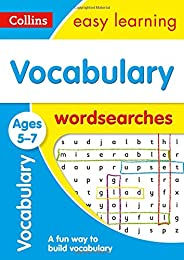 Vocabulary Word Searches Ages 5-7: Prepare for school with easy home learning (Collins Easy Learning KS1)