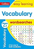 Vocabulary Word Searches Ages 5-7: motivating activities to learn new words (Collins Easy Learning KS1)