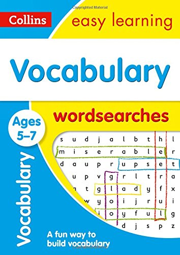 Vocabulary Word Searches Ages 5-7 (Collins Easy Learning KS1) por Collins Easy Learning