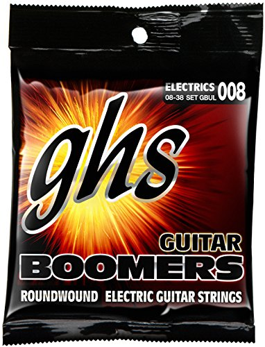 GHS Boomers GBUL, E-Gitarrensaiten, Ultra Light, 008-038