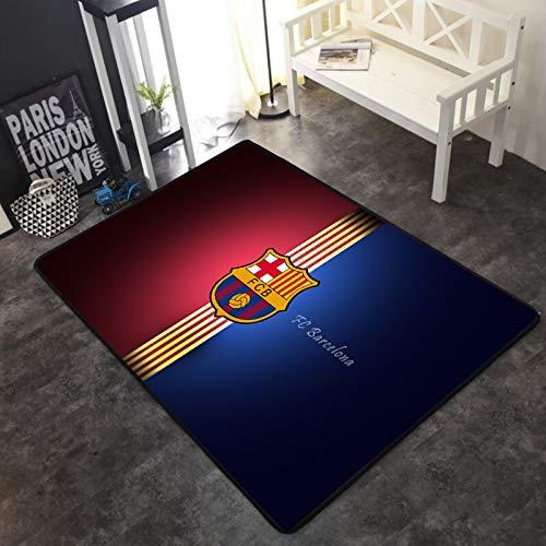 INSTUS Alfombra Futbol Club Logo Impresión Alfombra