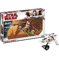 Revell 03613–Maqueta de Star Wars 1: 172–Republic Gunship en Escala 1: 172, Nivel 3, orginalgetreue imitación con Muchos Detalles