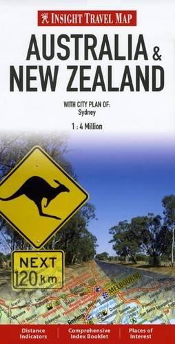 Insight Travel Maps: Australia & New Zealand