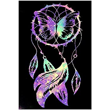 UK Hands Butterfly Full Drill 5D Diamond Embroidery Painting Cross Stitch Kit QP