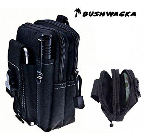 Bushwacka Taktischer Beutel Smartphone Holster Sicherheitspaket Riementasche Zubehör tragen Kit Beutel Gürtelschlaufen Bauchtasche
