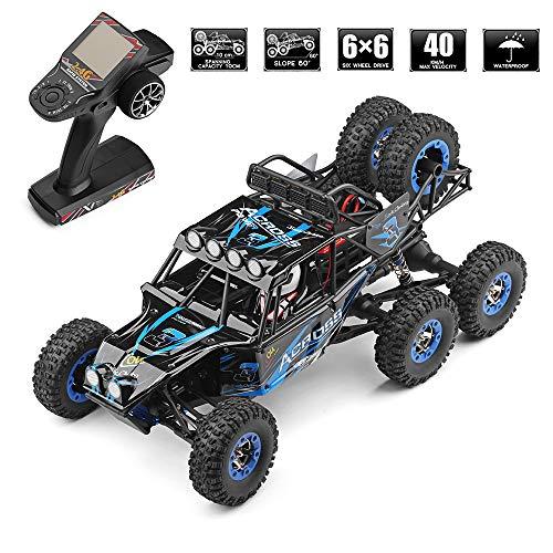 TLgf Off-Road-RC-Car Elektronisches Monster-Geländewagen, 1/12 LKW-Ferngesteuertes Auto, 4x4 RC-Trucks für Kinder mit 2,4-G-Funkfernbedienung und Suchscheinwerfer