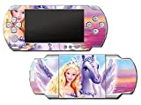 Barbie Doll Princess Unicorn Queen Video Game Vinyl Decal Skin Sticker Cover for Sony PSP Playstation Portable Original Fat 1000 Series System by Vinyl Skin Designs