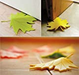 #6: Leaf Shapped Yellow Colour Door Stopper By Buckle Up
