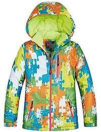 QunWang Chicos Y Chicas Invierno De Los Niños Al Aire Libre De Esquí Desgaste Impermeable A Prueba De Viento De Calentamiento De Ropa De Esquí a-10