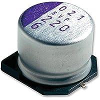 Condensatori elettrolitici in alluminio––Cap Alu Polymer 100UF 16V RAD can–MAL218097504E3