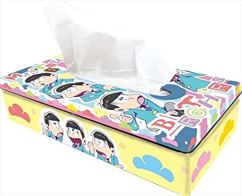 Osomatsu san Tinplate Tissue case 2 Basic From Japan New