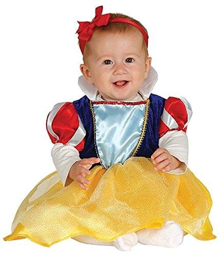 Baby Mädchen Schneewittchen Prinzessin Märchen Halloween Kostüm Kleid -