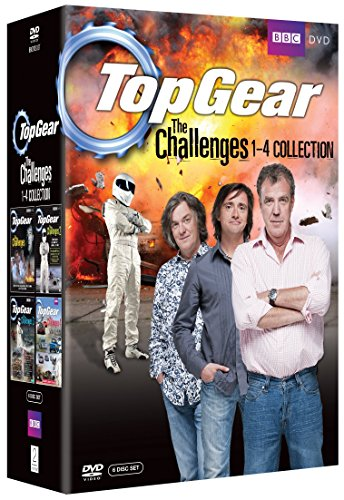 Top Gear - The Challenges 1-4 Collection [6 DVDs] [UK Import] (Top Gear-serie 1)