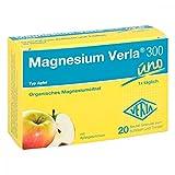 Magnesium Verla 300 uno Apfel Granulat, 20 St. Beutel