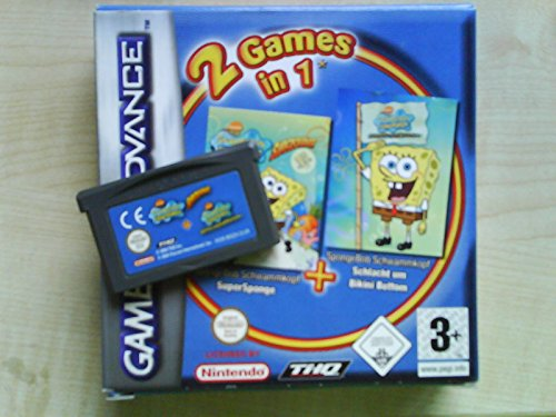 2 Games in 1 (SpongeBob Schwammkopf: SuperSponge / SpongeBob Schwammkopf: Schlacht um Bikini Bottom) - Um Schlacht Bottom Bikini