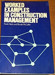 Worked Examples in Construction Management