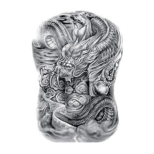 Temporäre Tätowierung, Körper-Aufkleber für Mann & Frauen, Temporary Tattoos Aufkleber, gefälschte Körper-Arm-Kasten Schulter Tattoos