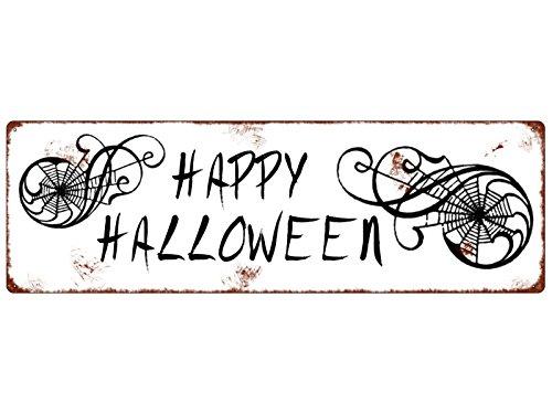 hild Türschild HAPPY HALLOWEEN Sprinne Gruselig Türschild (Happy Halloween-zitate-sprüche)