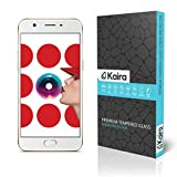 Kaira Ballistic Tempered Glass Screen Protector for Oppo A57 - Transparent