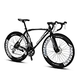 Extrbici XC700 Rennrad Pro 700 x 700 mm Laufrad 54 /56cm Leichtmetall-Rahmen 16 Gang Shimano 2400 Shift Gears Hardtail Mans Road Bicycle Double Mechanical Scheibenbremsen