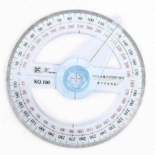 360Grad Winkelmesser Angel Maßnahme 10cm Durchmesser